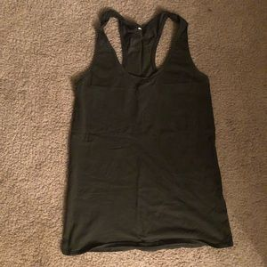 Lululemon army green love tank size 4